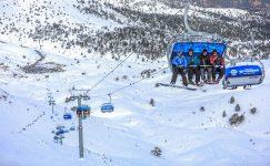 Büyükşehir ile kayak sporuna ilgi artıyor
