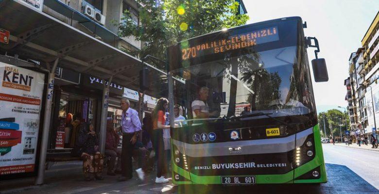 Denizli Büyükşehir otobüsleri LGS' ye gireceklere ücretsiz