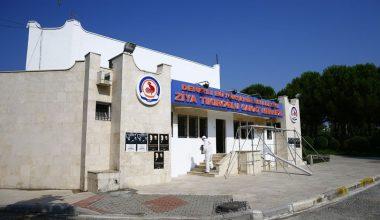 Denizli'de Açık Hava Tiyatrosu dezenfekte edildi