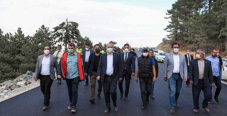 Başkan Zolan, Denizli Kayak Merkezi'nin yol sorununu bitirdi