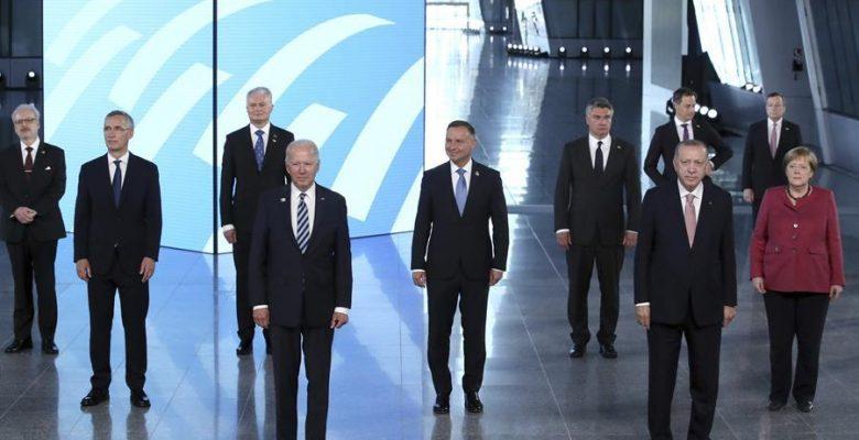 Erdoğan, Biden toplantısı öncesinde NATO ülkelerinin liderleriyle görüştü